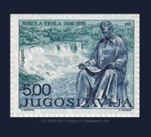Tesla Stamp (Yugoslavia) II One Piece - Short Sleeve