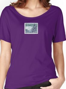 Tesla Stamp (Yugoslavia) II Women's Relaxed Fit T-Shirt