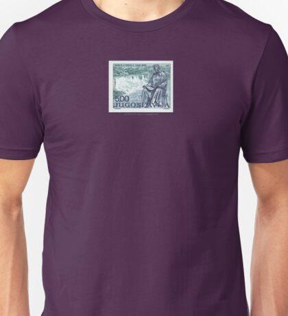 Tesla Stamp (Yugoslavia) II Unisex T-Shirt