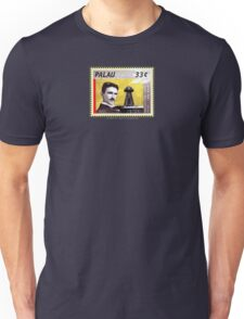 Tesla Stamp (Palau) Unisex T-Shirt
