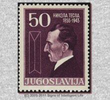 Tesla Stamp (Yugoslavia) III One Piece - Long Sleeve