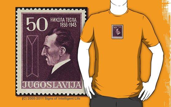 Tesla Stamp (Yugoslavia) III by SOIL