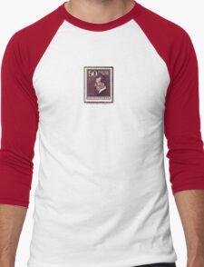 Tesla Stamp (Yugoslavia) III Men's Baseball ¾ T-Shirt