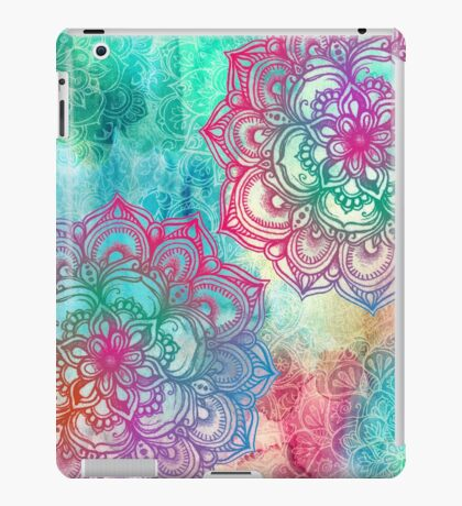 Round and Round the Rainbow iPad Case/Skin