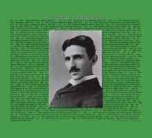 The Patents of Nikola Tesla Kids Tee
