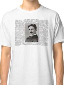 The Patents of Nikola Tesla Classic T-Shirt