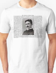The Patents of Nikola Tesla T-Shirt