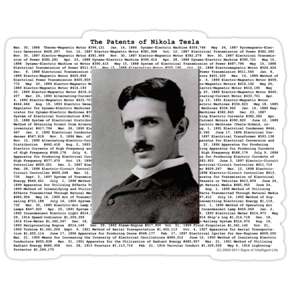 The Patents of Nikola Tesla by SOIL