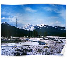 Winter in Morain Park, Rocky National Park Poster