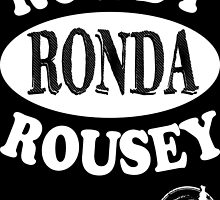 Rowdy Ronda Rousey pound for pound by JUSTiceTEA