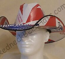 Pabst Blue Ribbon Style Beer Box Cowboy Hat by shakiamen26