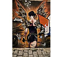 Fiery Angel Photographic Print