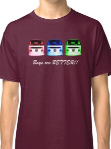 VW Kombi shirt - Bays are BETTER!!  Classic T-Shirt