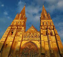 Cathédrale Notre-Dame de Bayeux by Lanis Rossi