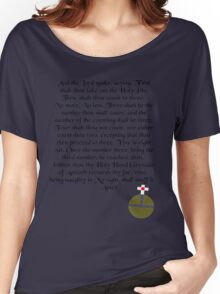 The Holy Hand Grenade of Antioch Women's Relaxed Fit T-Shirt