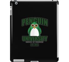 Penguin University - Green 2 iPad Case/Skin