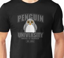 Penguin University - Grey 2 Unisex T-Shirt