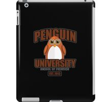 Penguin University - Brown 2 iPad Case/Skin