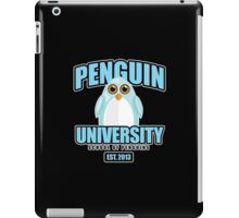 Penguin University - Blue 2 iPad Case/Skin