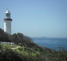 The Lighthouse, Norah Head, NSW, Australia by Sharon Williams