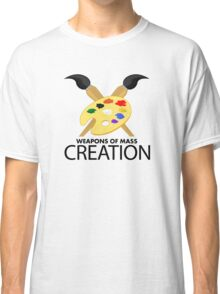 Weapons of mass creation - Yellow Classic T-Shirt
