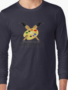 Weapons of mass creation - Yellow Long Sleeve T-Shirt