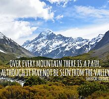 Over Every Mountain. by TASHARTS
