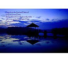 Praise, pierce water Photographic Print