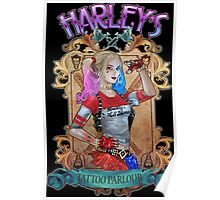 Harley's Tattoo Parlour Poster