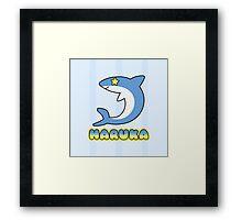 Splash Free Club - Haruka Framed Print