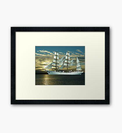 Windjammer Framed Print