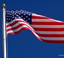 God Bless America - The United States Flag by Betty Northcutt