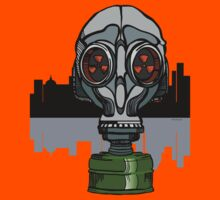 gas mask by HD Connelly
