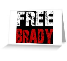 Free Brady Tom Brady Greeting Card