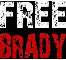 Free Brady Tom Brady Photographic Print