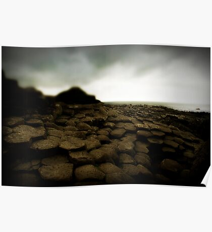 Giant's Causeway, Northern Ireland Poster