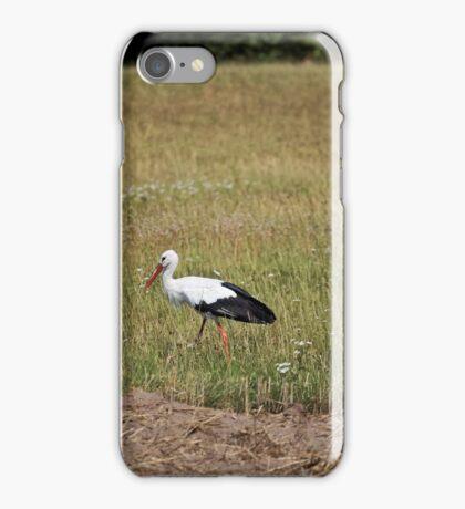 White Stork iPhone Case/Skin