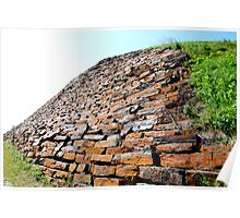 Brick by Brick- Fort Knox, Maine Poster