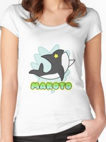 Splash Free Club - Makoto Women's Fitted Scoop T-Shirt