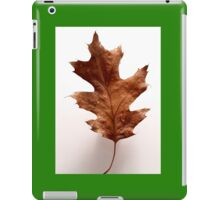 maple leaf iPad Case/Skin