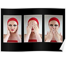 Hear no Evil, See no Evil, Speak no Evil Poster