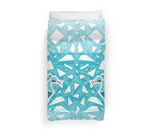 Ice Dragon Duvet Cover