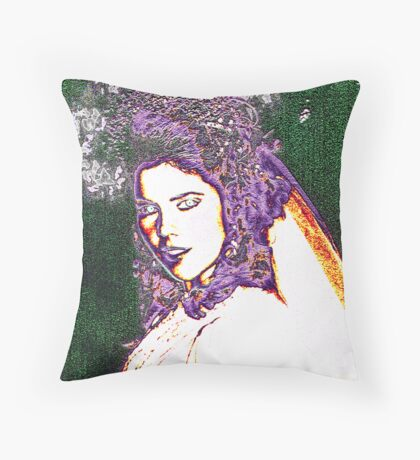 Fairy Bride... Throw Pillow
