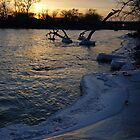 Sunset on the River by Richard Williams
