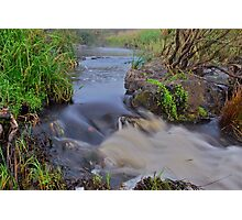 Apsley River.  24-1-11. Photographic Print
