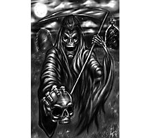 Grim Reaper art by Robert A. Marzullo Photographic Print