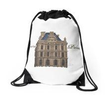 Le Palais du Louvre Drawstring Bag