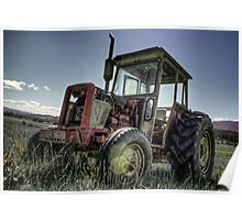 Tractor HDR I Poster
