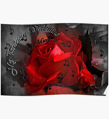 """""""My Precious Valentine..."""" Poster"""