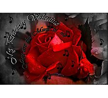 """My Precious Valentine..."" Photographic Print"